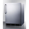 Image of Summit Stainless 24-Inch Wine Fridge -- Side Handle