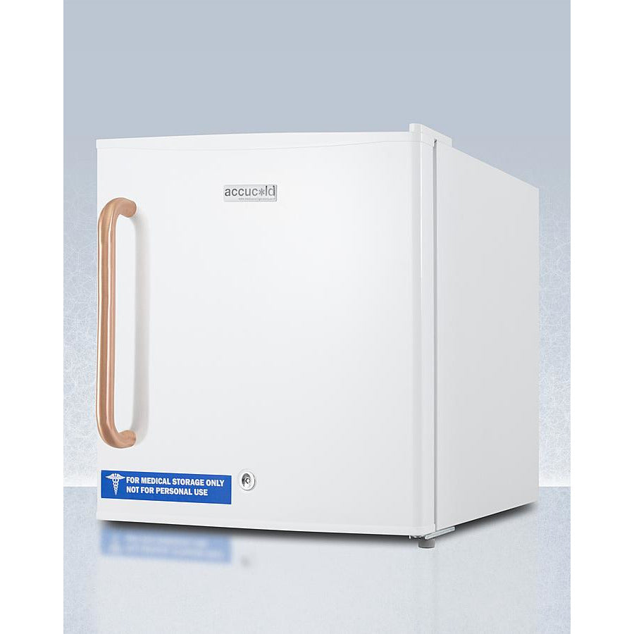 Compact All-Freezer with Antimicrobial Pure Copper Handle