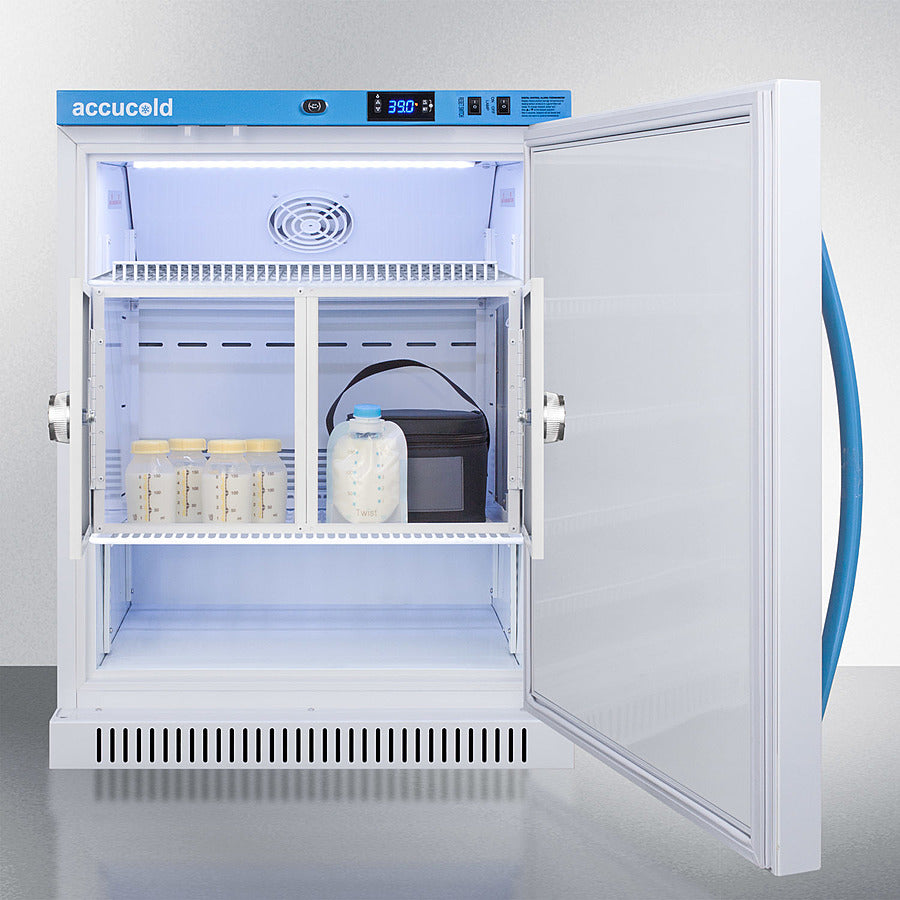 6 Cu.Ft. MOMCUBE™ Breast Milk Refrigerator, ADA Height