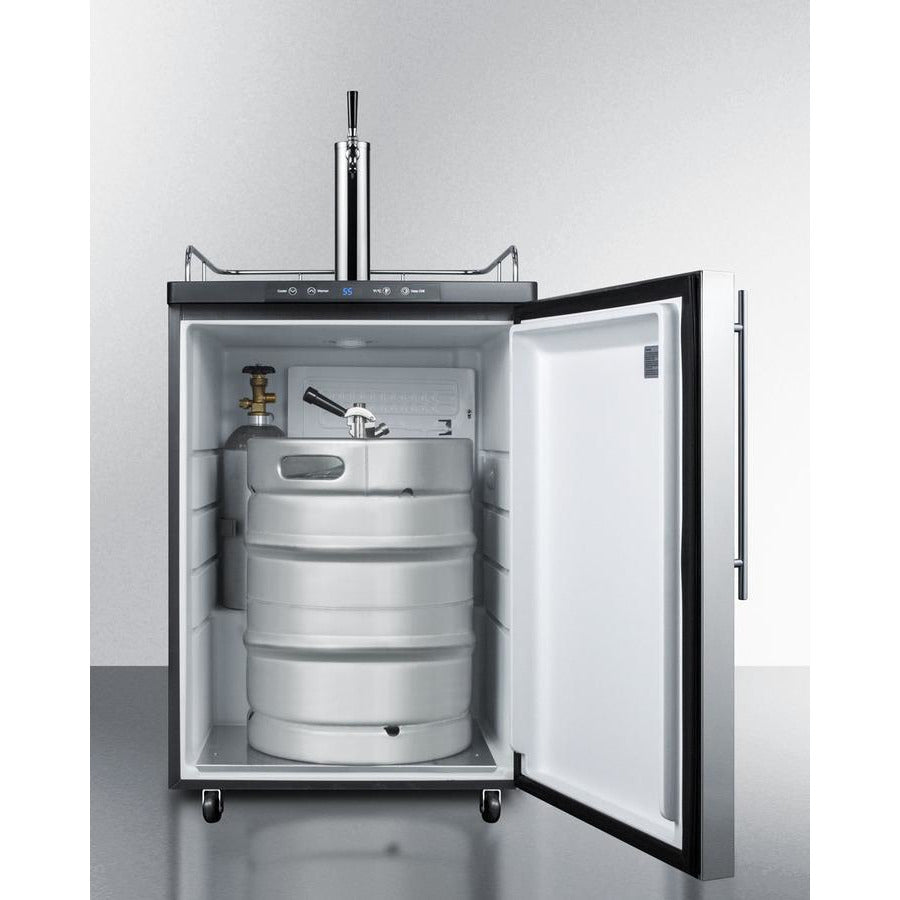 Summit Beer Dispenser 24-Inch Wide C