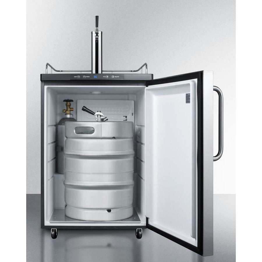 Summit Beer Dispenser 24-Inch Wide E