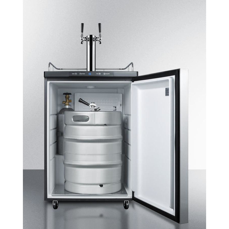 Summit Beer Dispenser 24-Inch Wide B
