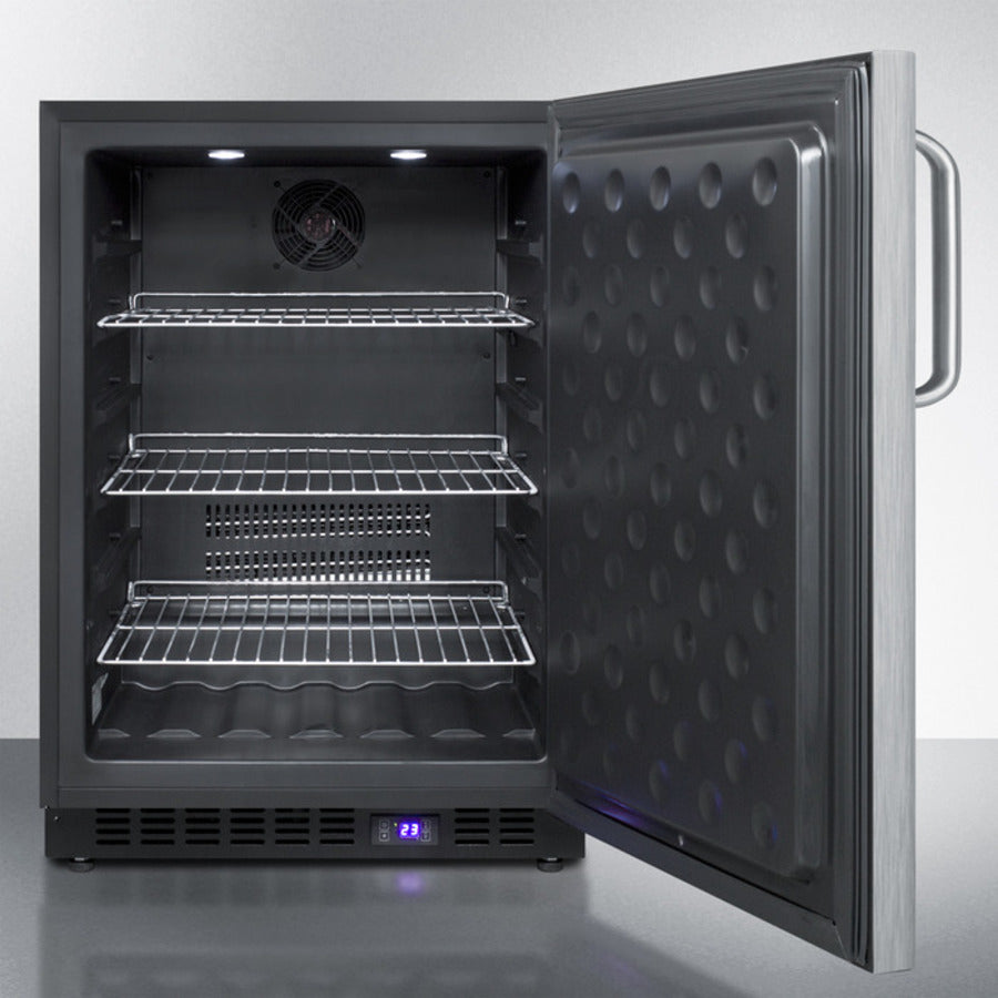 "24"" Wide Built-In All-Freezer"