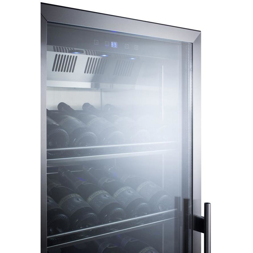Summit Commercial Wine Display Cooler 24-Inch Wide