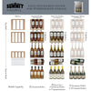 Image of Summit Compact 28-Bottle Single Zone Wine Cooler