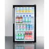 "Image of 20"" Wide Built-In All-Refrigerator, ADA Compliant"