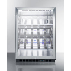 Summit Commercial 20-Bottle Single Zone Wine Cooler