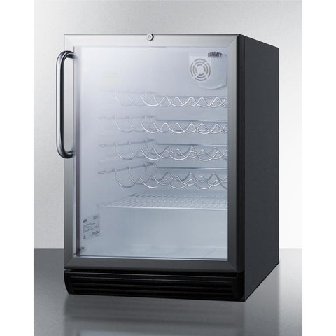 Summit Commercial 36-Bottle Single Zone Wine Cooler ADA