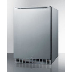 Summit Black 24-Inch Outdoor Refrigerator