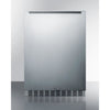 Image of Summit Black 24-Inch Outdoor Refrigerator