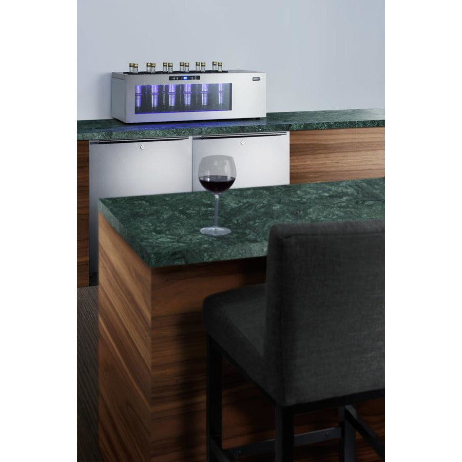Summit Commercial 12-bottle Countertop Wine Cooler