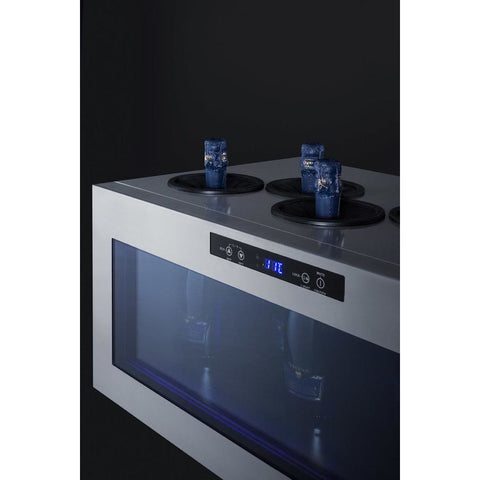Summit Commercial 6-bottle Countertop Wine Cooler