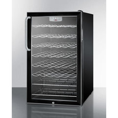Summit Black 40-Bottle Wine Cellar ADA