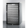 Image of Summit Stainless Glass Door 20-Inch Wine Cellar ADA
