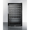 Image of Summit Glass Door 20-Inch Wine Cellar