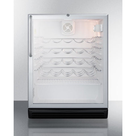 Summit 36-Bottle Single Zone Wine Cooler ADA