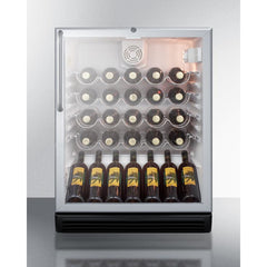 Summit 36-Bottle Single Zone Wine Cooler