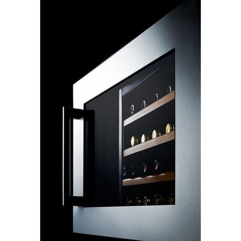 Summit Integrated 28-Bottle Single Zone Wine Cooler
