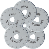 28mm Rotary Cutter Blades (5-Pack)