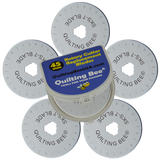 45mm Rotary Cutter Blades (5-Pack)