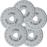 60mm Rotary Cutter Blades (5-Pack)