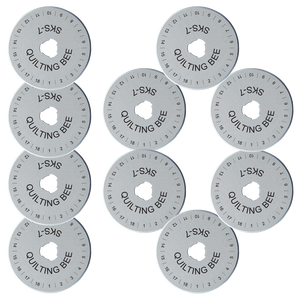 60mm Rotary Cutter Blades (10-Pack)