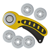 45mm Rotary Cutter with 5 Extra Blades