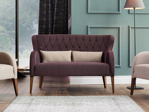 Akik Quilted 2 Seater Sofa - Ider Furniture