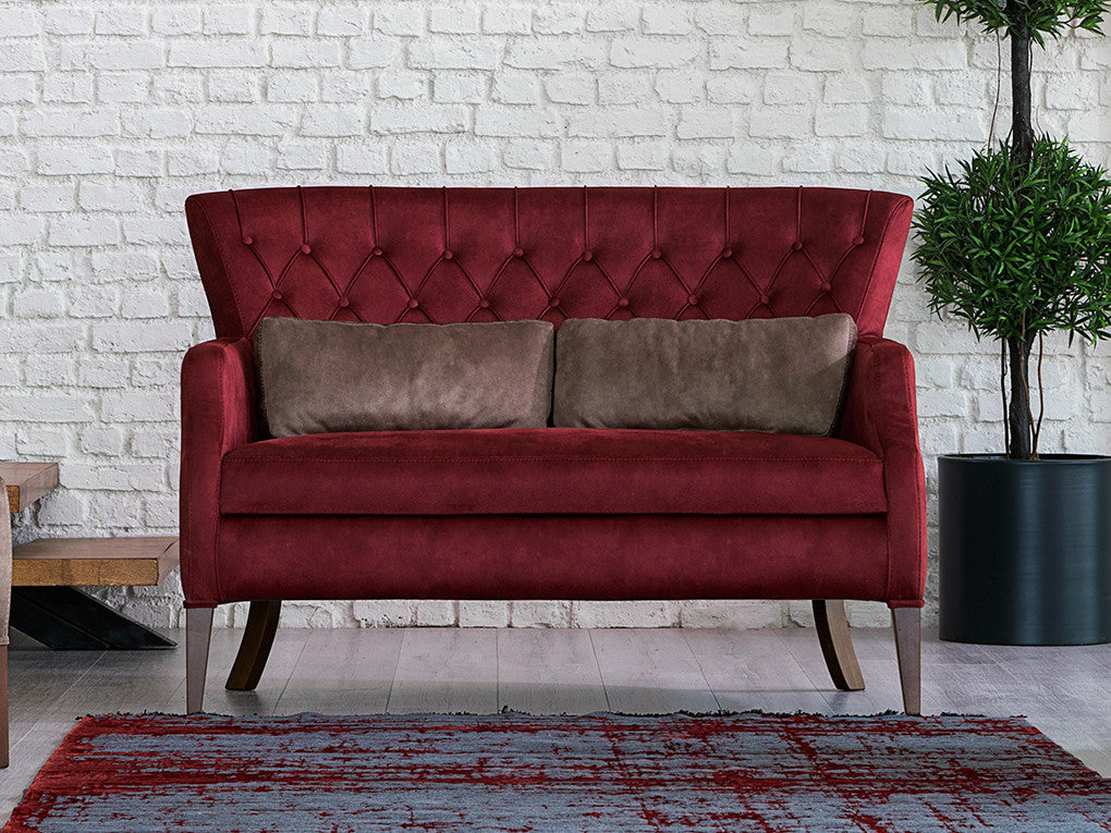Demre Quilted 2 Seater Sofa - Ider Furniture