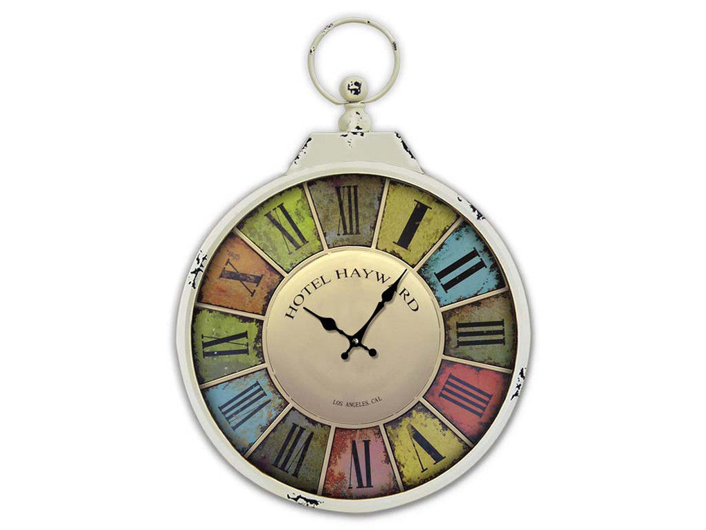 TG 367 C/Flower Wall Clock - Ider Furniture