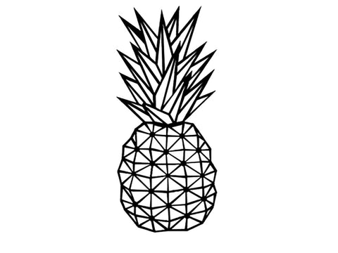 Pineapple Metal Wall Art Decor - Ider Furniture
