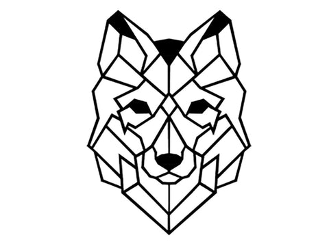 Wolf Metal Wall Art Decor - Ider Furniture