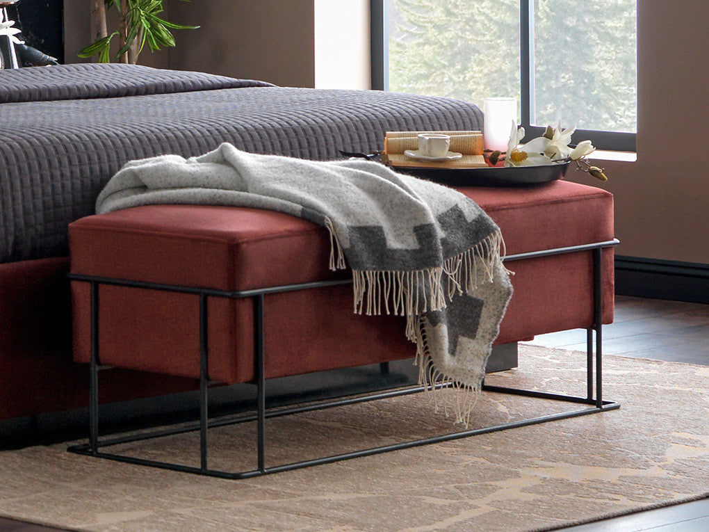 Perge Rectangle Pouffe - Ider Furniture