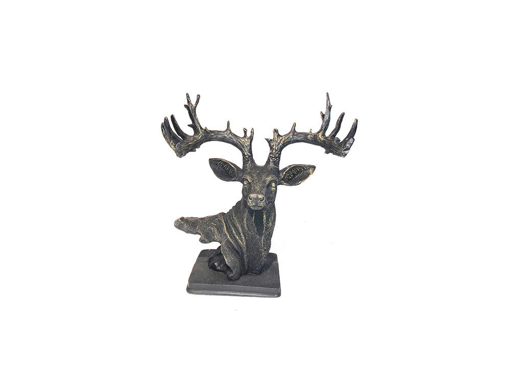 Deer Decorative Figure Gold - Ider Furniture
