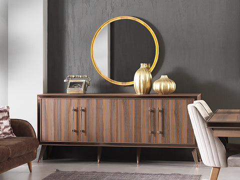 Alinda Sideboard Mirror - Ider Furniture