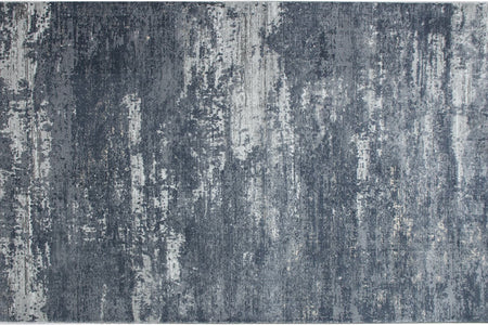 Como Cm 09 Dark Gray Blue Carpet - Ider Furniture