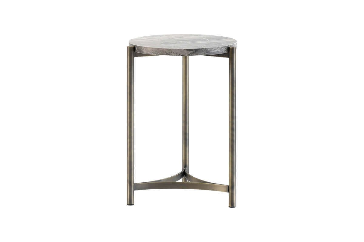 Hermes Side Table - Antique - Ider Furniture