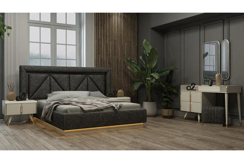 Megan Moonstone Bedroom Set - Ider Furniture