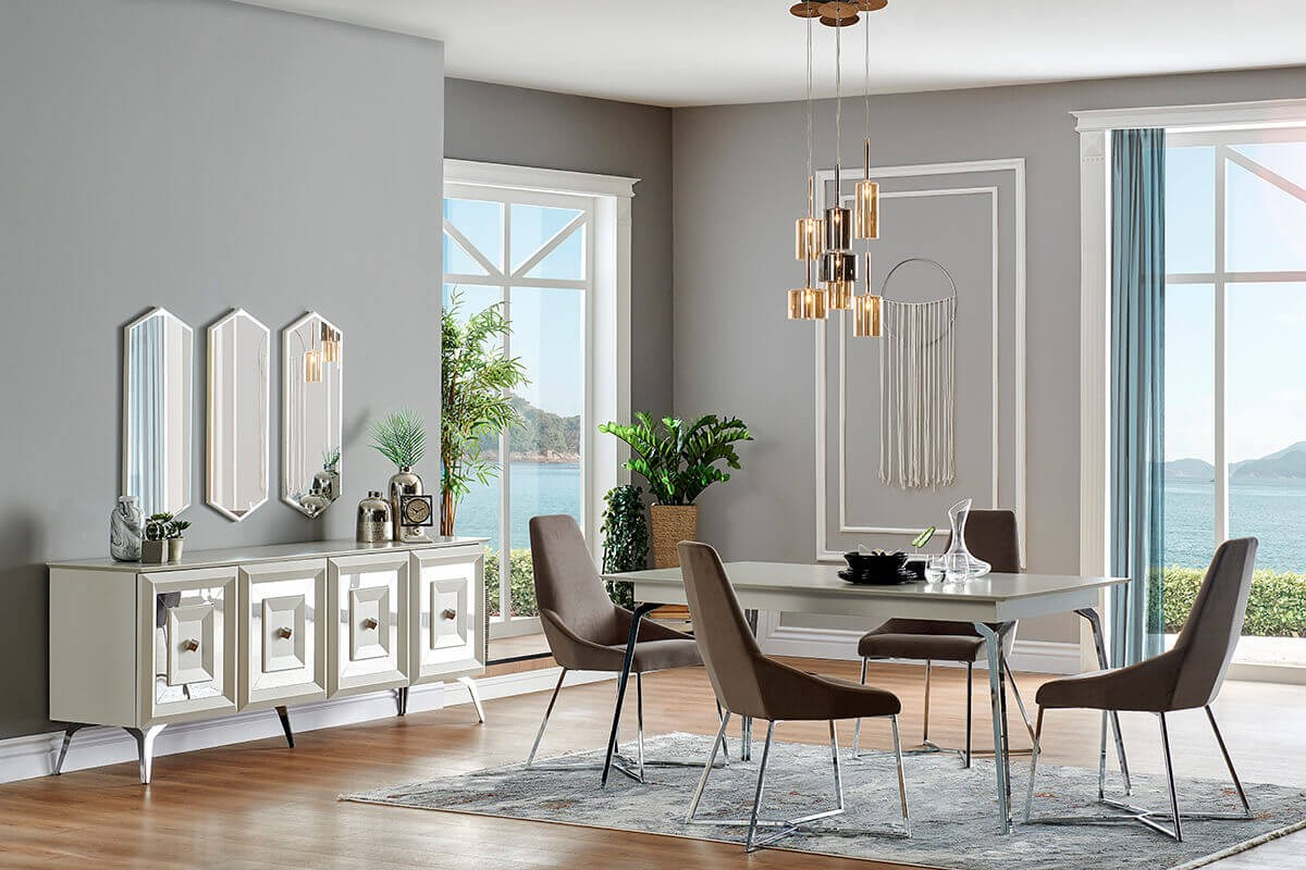 Mithra Dining Room Set - Ider Furniture