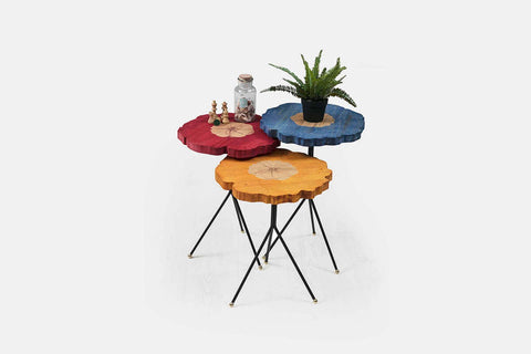 Rey Color Nesting Table - Ider Furniture