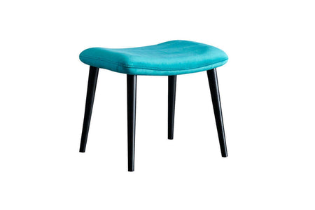 Roma Pouf Blue - Ider Furniture