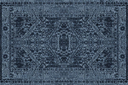 Siesta Vintage Vnt 01 Navy Carpet - Ider Furniture