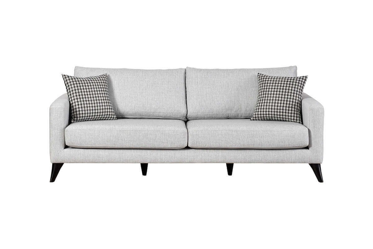 Silver 3 Seater Sofabed - Ider Furniture