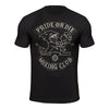 "T-Shirt PRiDEorDiE ""BOXING CLUB"" - Noir"