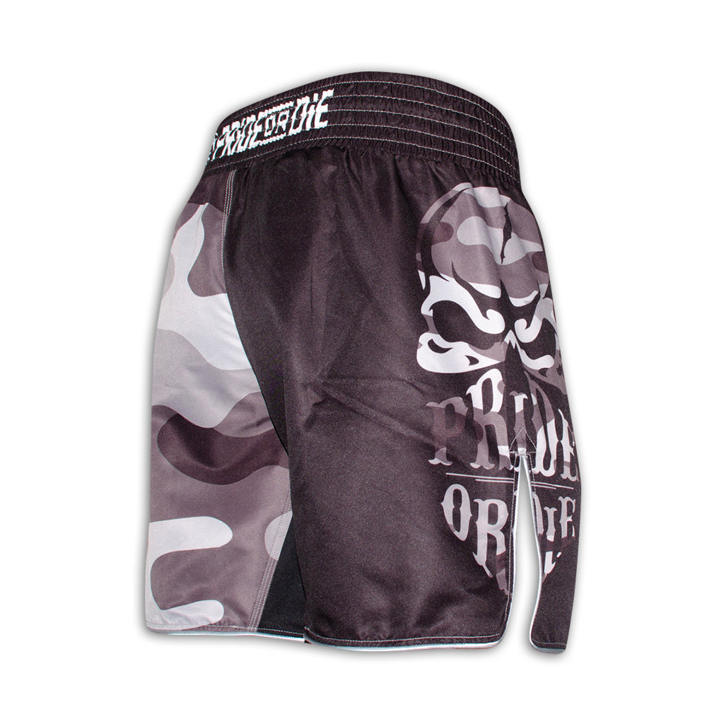 "Fight Short PRiDEorDiE ""RECKLESS"" - Urban Camo"