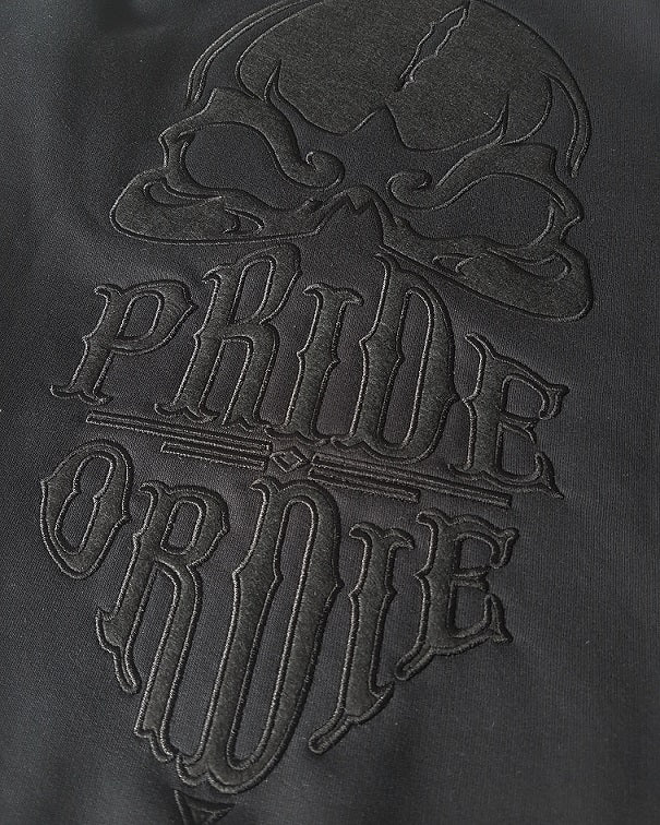 "Sweat PRiDEorDiE ""RECKLESS"" Full Black - Noir"