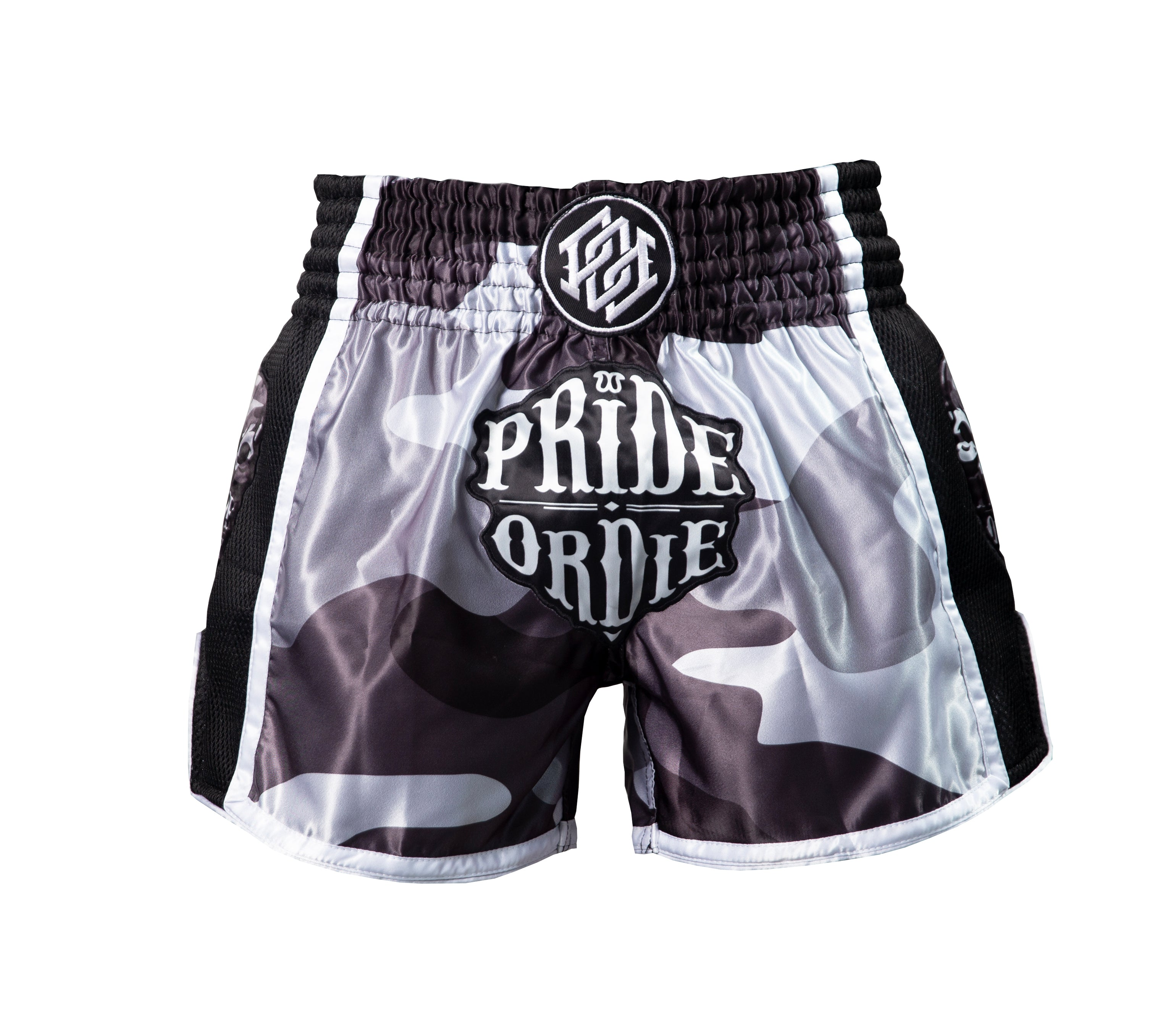 "Short Muay Thai PRiDEorDiE ""RECKLESS"" - Urban Camo"