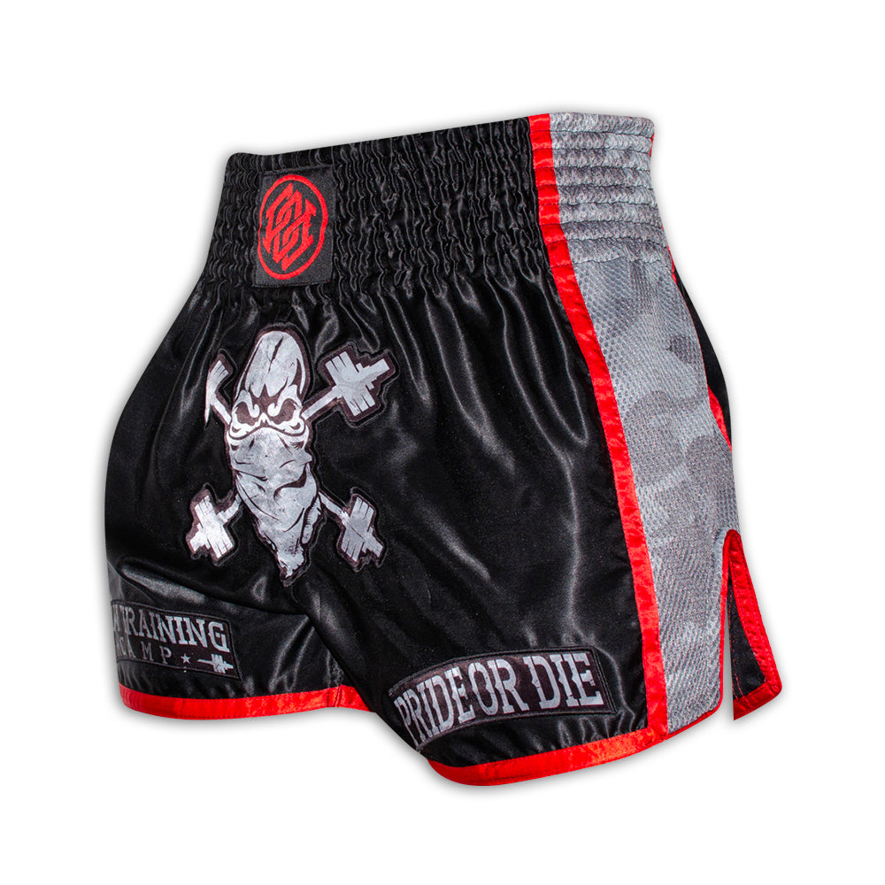 "Short Muay Thai PRiDEorDiE ""RAW TRAINING CAMP"" - Urban Camo"