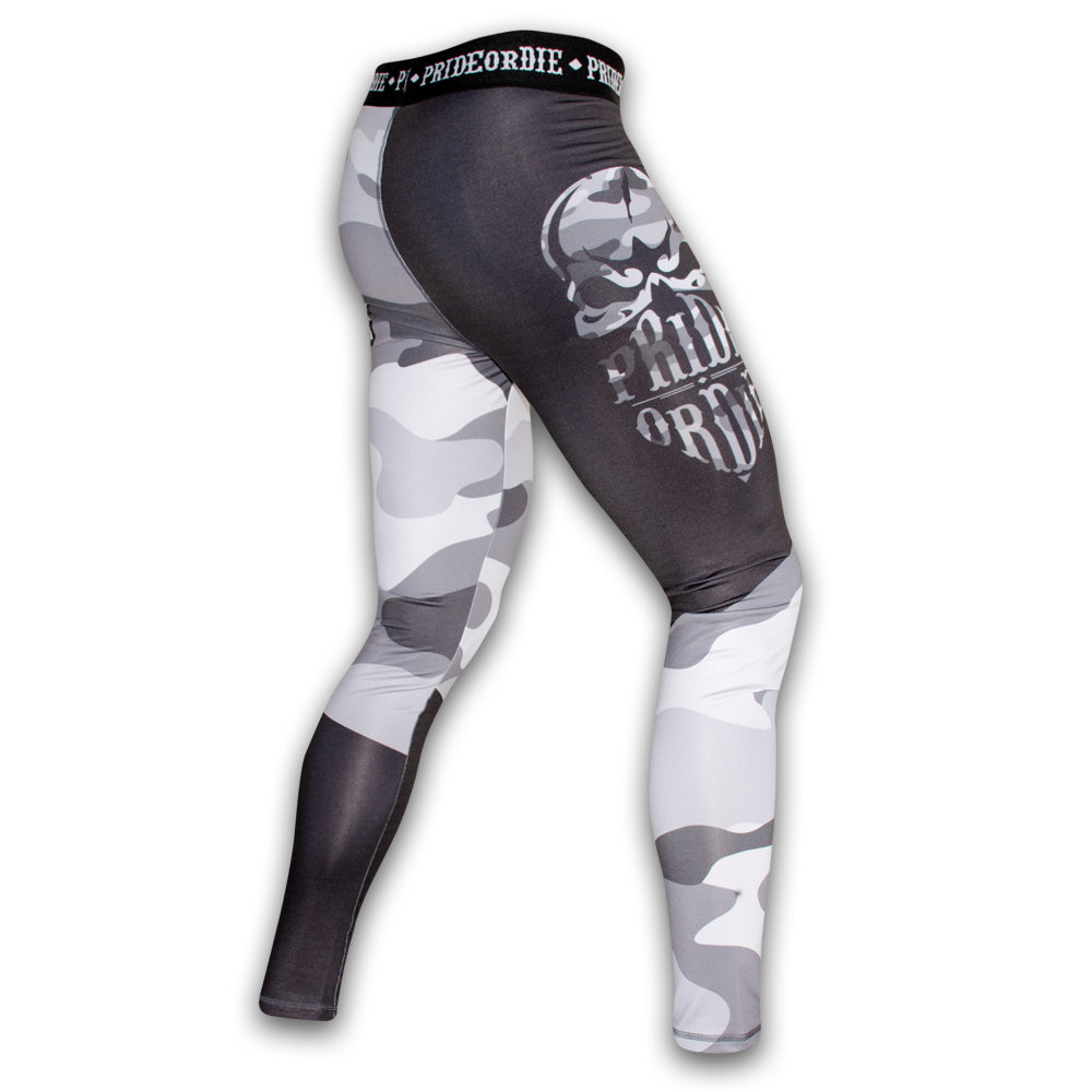 "Compression Pants PRiDEorDiE ""RECKLESS"" - Urban Camo"