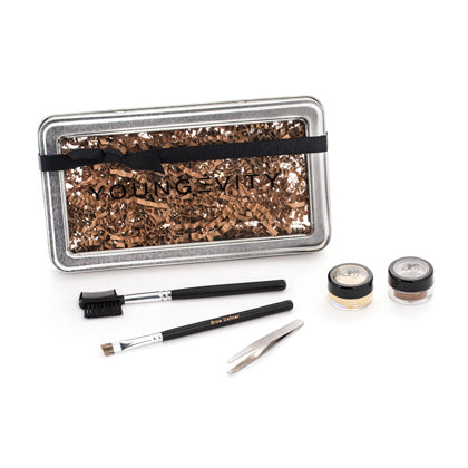 Tame Your Brows Kit with Lucca Eye Shadow